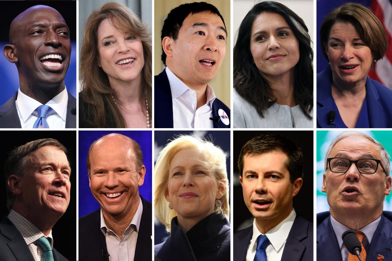 democratic candidates 2020